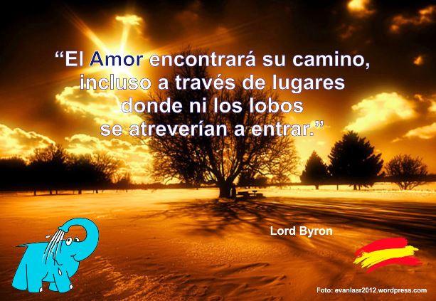 Elefante Azul Aviles Categorias Frase De Lord Byron Sobre El Amor