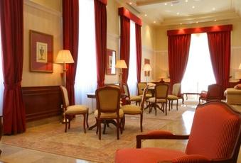 Foto del salón de reuniones del Hotel Pelayo en el Directorio de Empresas del Elefante Azul de Avilés