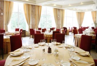 Foto del Salón Comedor del Hotel Pelayo en el Directorio de Empresas del Elefante Azul de Avilés