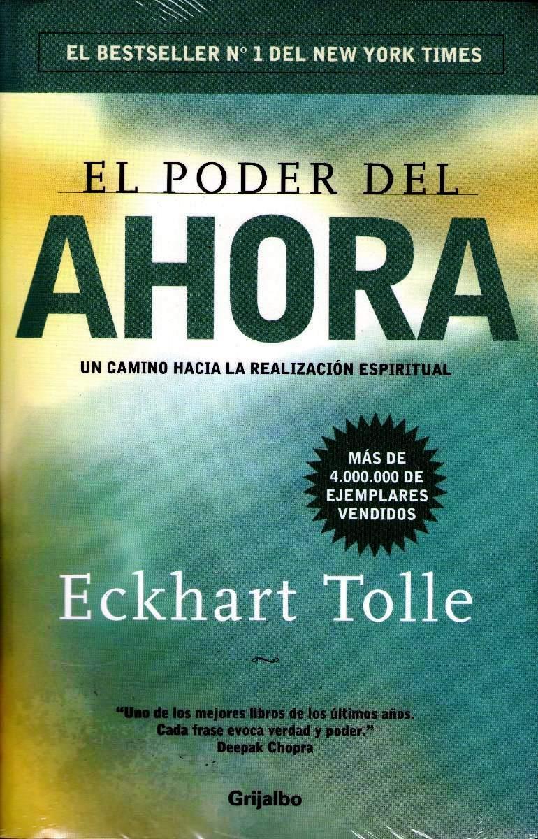 El libro de Eckhart Tolle en el Consejo de la Semana de los Centros Elefante Azul de Avilés