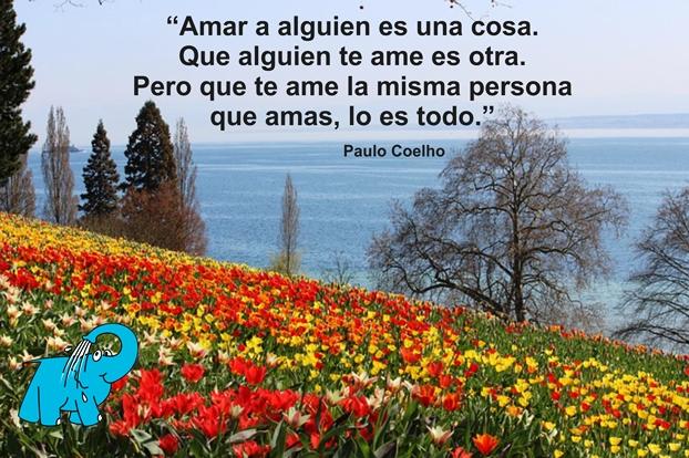 Una enseñanza de Paulo Coelho en la frase del día del Elefante Azul de Avilés
