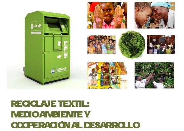 Humana es una organización sin ánimo de lucro especializada en reciclaje textil, medioambiente y cooperación al desarrollo.
