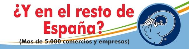 Donde puedes utilizar tu Tarjeta Ahorro Elefante Azul Avilés en todo el territorio español y por Internet