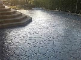 Un buen ejemplo del servicio de pavimento impreso de Tripul.cb en el sitio web del Elefante Azul de Avilés