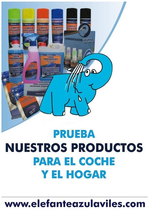 Elefante Azul Aviles - Tienda Elefante Azul - Centro de lavado de coches Elefante Azul Avil�s