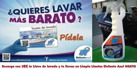 Elefante Azul Aviles - Limpiallantas Gratis - Centro de lavado de coches Elefante Azul Avilés