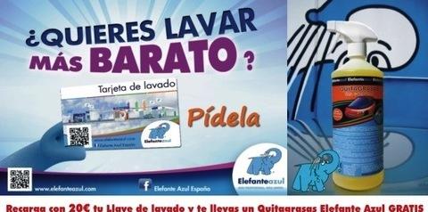 Elefante Azul Aviles - Quitagrasas Gratis - Centro de lavado de coches Elefante Azul Avilés