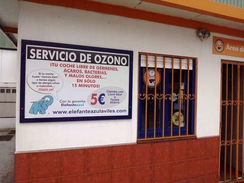 Elefante Azul Aviles - Servicio de Ozono Gratis - Centro de lavado de coches Elefante Azul Avilés