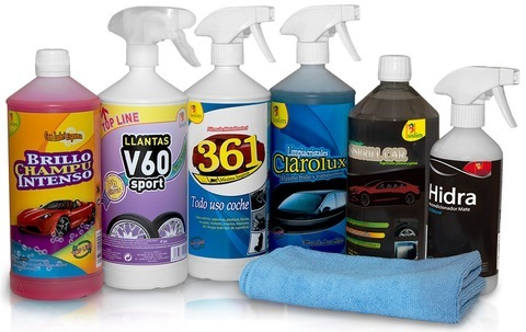 Elefante Azul Aviles - Lote Detail Limpieza Básica - Centro de lavado de coches Elefante Azul Avilés