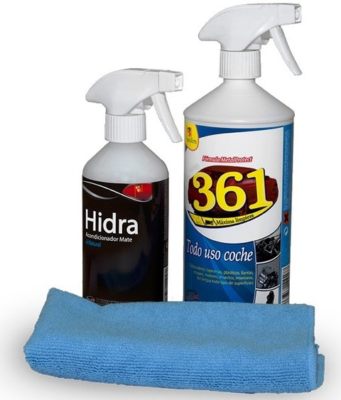 Elefante Azul Aviles - Lote Limpieza Interior - Centro de lavado de coches Elefante Azul Avilés