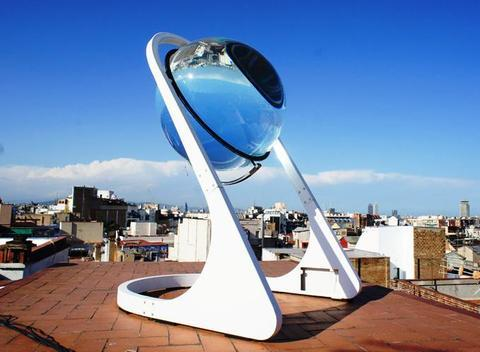 Elefante Azul Aviles - Rawlemon, La Esfera Solar - Centro de lavado de coches Elefante Azul Avilés
