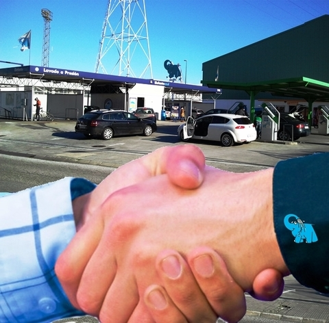 Elefante Azul Aviles - Amamos lo que hacemos - Centro de lavado de coches Elefante Azul Avil�s