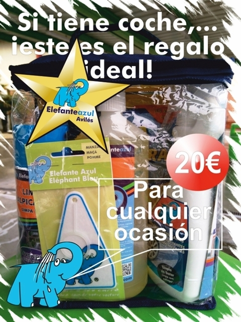 Elefante Azul Aviles - Super Lote Productos - Centro de lavado de coches Elefante Azul Avilés