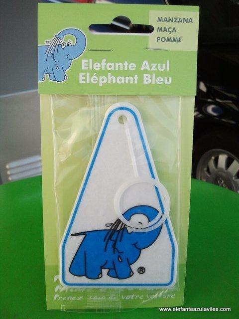 Elefante Azul Aviles - Ambientador Elefante Azul Manzana - Centro de lavado de coches Elefante Azul Avilés