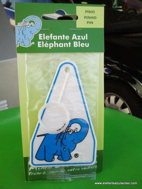 Elefante Azul Aviles - Ambientador Elefante Azul Pino - Centro de lavado de coches Elefante Azul Avilés