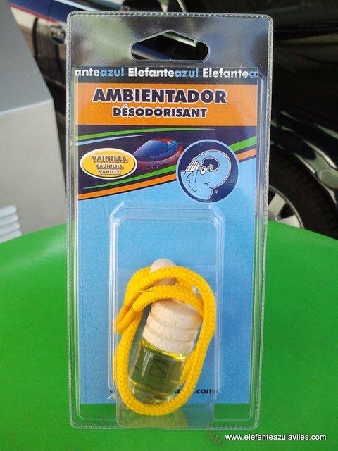 Elefante Azul Aviles - Ambientador Bio Fresh Vainilla - Centro de lavado de coches Elefante Azul Avilés