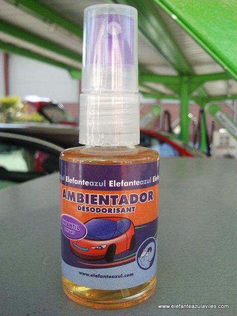 Elefante Azul Aviles - Ambientador Spray Infantil - Centro de lavado de coches Elefante Azul Avilés