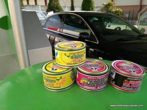 Elefante Azul Aviles - Ambientador Lata Vainilla - Centro de lavado de coches Elefante Azul Avilés