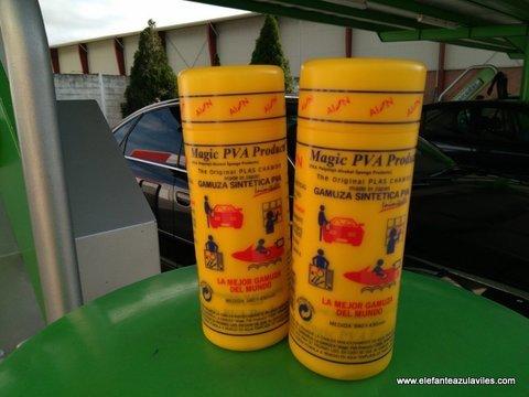 Elefante Azul Aviles - Gamuza Sintética Kanebo - Centro de lavado de coches Elefante Azul Avilés