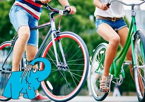 Elefante Azul Aviles - Andar en Bici por la Ciudad - Centro de lavado de coches Elefante Azul Avilés