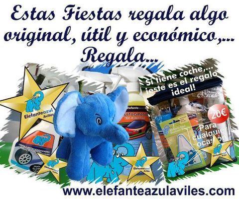 Elefante Azul Aviles - EL REGALO DE NAVIDAD - Centro de lavado de coches Elefante Azul Avilés