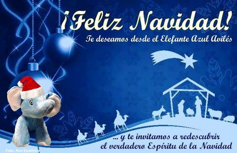 Elefante Azul Aviles - ¡Feliz Navidad!