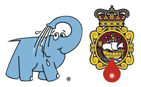 Elefante Azul Aviles - Convenio con la Asociación Donantes Sangre Avilés y Corvera - Centro de lavado de coches Elefante Azul Avilés