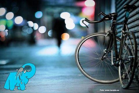 Elefante Azul Aviles - Bicicleta en la ciudad - Centro de lavado de coches Elefante Azul Avilés