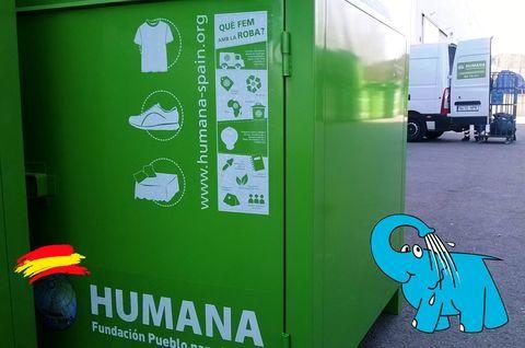 Elefante Azul Aviles - Lo que hace HUMANA con Tu Ayuda - Centro de lavado de coches Elefante Azul Avilés