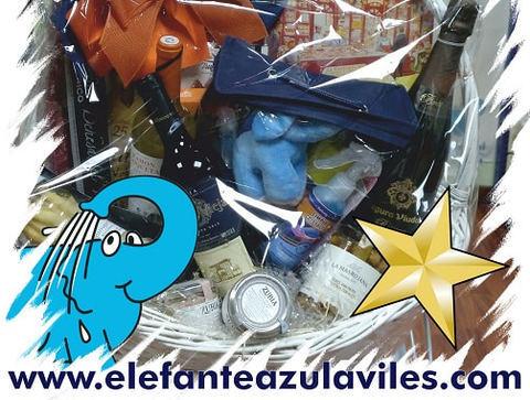 Elefante Azul Aviles - La Cesta Vuelve a Casa por Navidad - Centro de lavado de coches Elefante Azul Avilés