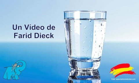 Elefante Azul Aviles - Farid Dieck y el vaso de agua - Centro de lavado de coches Elefante Azul Avilés