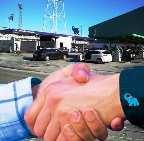 Elefante Azul Aviles - Lavar tus vehiculos en el Elefante Azul - Centro de lavado de coches Elefante Azul Avilés