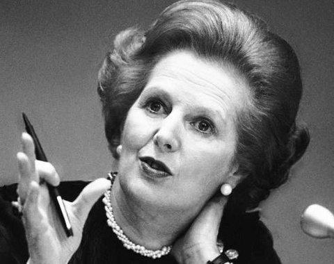 Elefante Azul Aviles - Margaret Thatcher